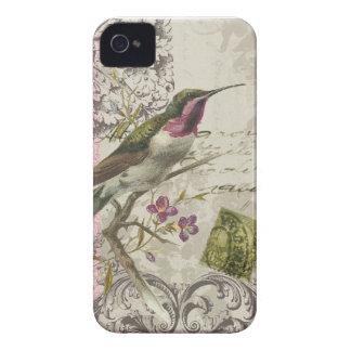 iphone 4 case.. .Vintage Hummingbird iPhone 4 Covers