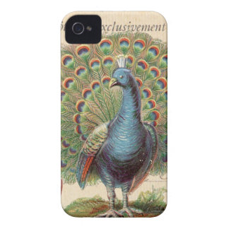 iphone 4 case.. .Vintage Peacock iPhone 4 Case