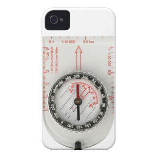 iPhone 4 cover - Orienteering compass