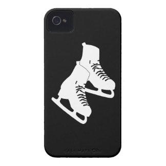 iPhone 4 Ice Skates Black iPhone 4 Case-Mate Cases