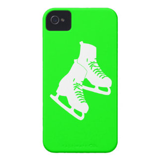 iPhone 4 Ice Skates Green iPhone 4 Cases