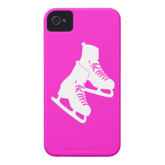 iPhone 4 Ice Skates Pink iPhone 4 Case-Mate Cases