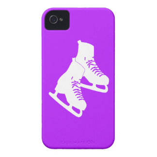 iPhone 4 Ice Skates Purple iPhone 4 Cover