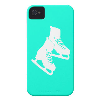 iPhone 4 Ice Skates Turquoise iPhone 4 Case-Mate Cases