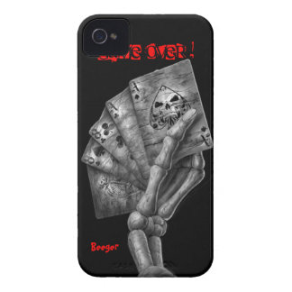 Iphone 4 ID - Game Over Deck of Cards Case-Mate iPhone 4 Case