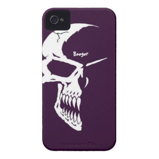 Iphone 4 mate ID - Skull Half Face iPhone 4 Covers