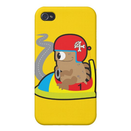 iPhone 4 Matte Finish Case with driving monster iPhone 4/4S Covers