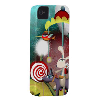 iPhone 4S Case - Lovely-bunny-lolipop-merry-go-rou