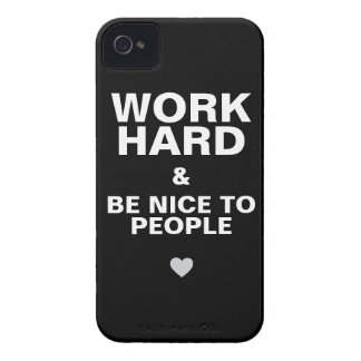 iPhone 4s Case Motivational: Black iPhone 4 Cover