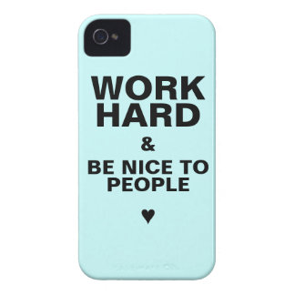 iPhone 4s Case Motivational: Blue iPhone 4 Cover