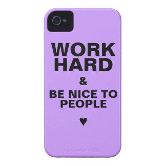 iPhone 4s Case Motivational: Purple iPhone 4 Case
