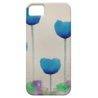 iPhone 5/5s/5c de tulipe bleue Étui iPhone 5