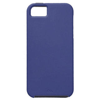 iPhone 5/5S Blue Satin look case