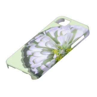 iPhone 5/5S Case - Lemony White Zinnia