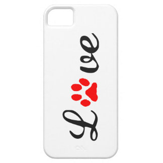 iPhone 5/5S case love pets