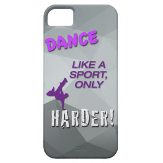 iPhone 5/5s Case with Dance Quote - Hip Hop