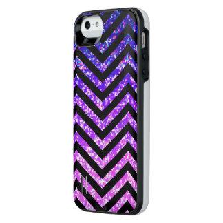 iPhone 5/5s Case Zig Zag Sparkley Texture
