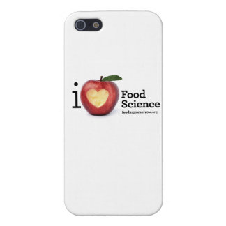 """iPhone 5/5S """"I Heart Food Science"""" Phone Case Case For The iPhone 5"""
