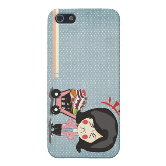 iPhone 5/5S Matte Finish Case animation cake iPhone 5/5S Case