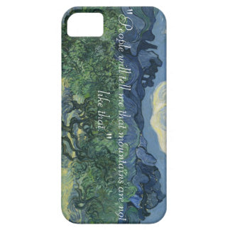 iPhone 5/5S, Van Gogh Olive trees & Quote iPhone 5 Covers
