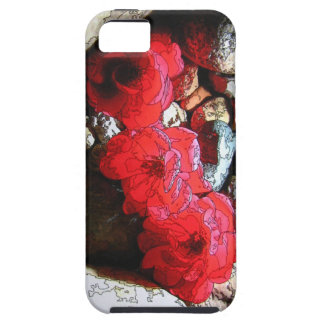 iphone 5 Barely There Case Red Roses
