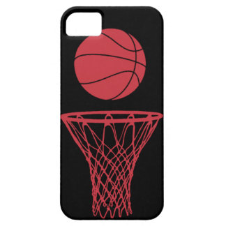 iPhone 5 Basketball Silhouette Bulls Black iPhone 5 Cover