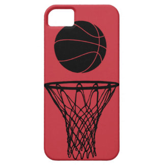 iPhone 5 Basketball Silhouette Bulls Red iPhone 5 Cases
