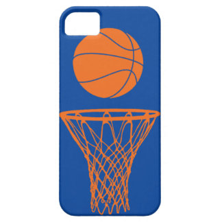 iPhone 5 Basketball Silhouette Knicks Blue iPhone 5 Case