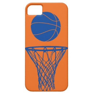 iPhone 5 Basketball Silhouette Knicks Orange Case For The iPhone 5