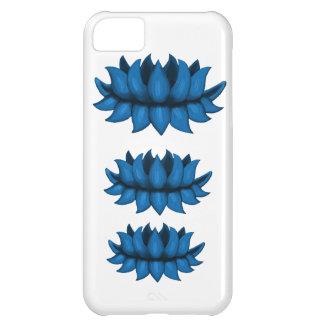 Iphone 5 blue lotus flower case