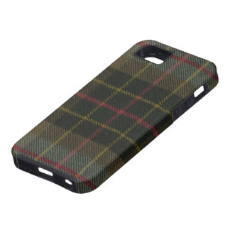 iPhone 5 Brodie Hunting Weathered Tartan iPhone 5 Case