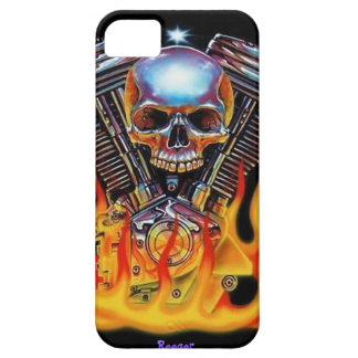 Iphone 5 bt - American Muscle Skull Case For The iPhone 5