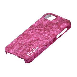 iPhone 5 cadeaux velus roses Girly de cas Étui iPhone 5