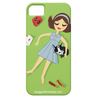 """iPhone 5 Case: Boogie Loves All-Mighty """"The Fanny"""" iPhone 5 Cover"""