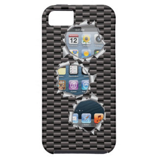 iPhone 5 case Carbon Template change image
