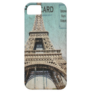 iphone 5 case Eiffel Tower Postcard from Paris