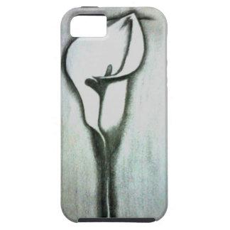 Iphone 5 case - Flower sketch