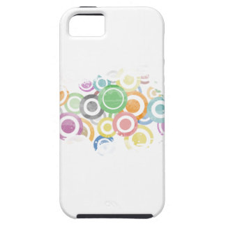 iPhone 5 Case full of circles. Colorful and cool gift