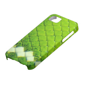 iPhone 5 Case - Green Boa SnakeSkin
