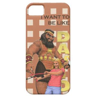 iPhone 5 Case - I Want To Be Like David - Female