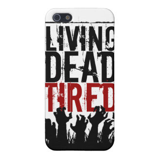 iPhone 5 case Living Dead Tired