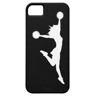 iPhone 5 Case-Mate Cheer 1 Silhouette White/Black