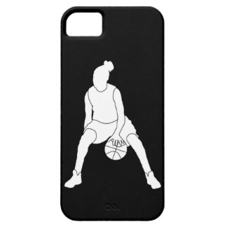 iPhone 5 Case-Mate Dribble Silhouette White/Black Case For The iPhone 5