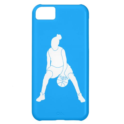 iPhone 5 Case-Mate Dribble Silhouette White/Blue