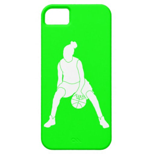iPhone 5 Case-Mate Dribble Silhouette White/Green