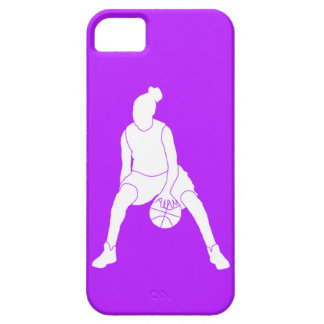 iPhone 5 Case-Mate Dribble Silhouette White/Purple iPhone 5 Covers