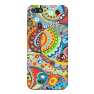 iPhone 5 Case Matte -- Colorful Art