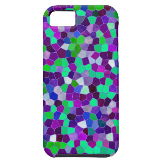 iPhone 5 Case Mosaic Texture Stained Glass
