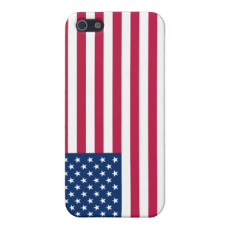 iPhone 5 Case Savvy Matte United States Flag