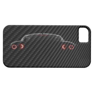 iPhone 5 case Template Carbon Car 3D Change image